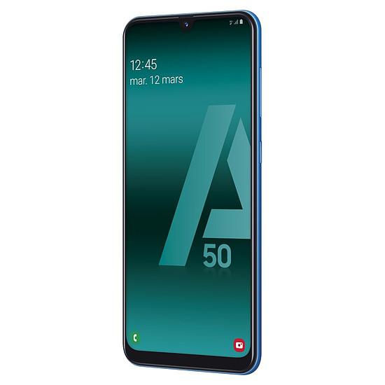 Smartphone et téléphone mobile Samsung Galaxy A50 (bleu) - 128 Go - 4 Go - Autre vue