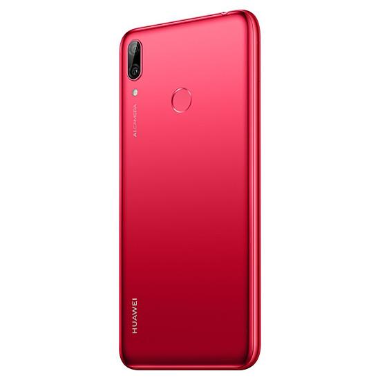 Smartphone et téléphone mobile Huawei Y7 2019 (rouge) - 32 Go - 3 Go - Autre vue