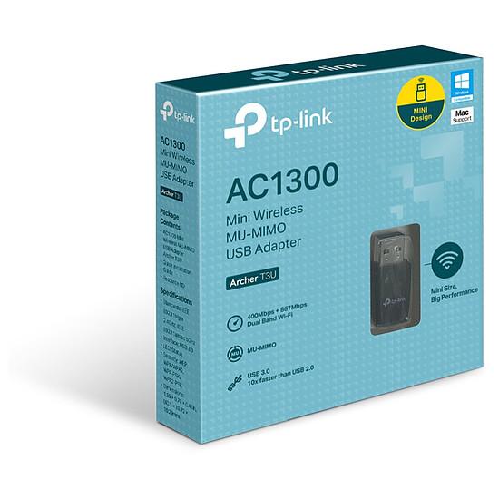 Carte réseau TP-Link Archer T3U - Clé USB Wifi AC1300 double bande - Autre vue