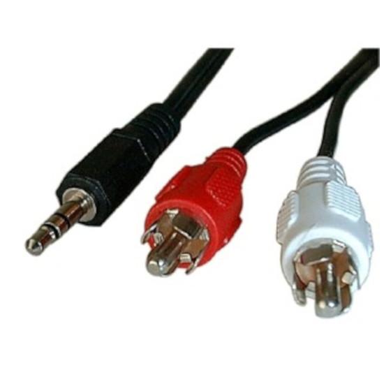 HDMI Câble audio Jack 3.5 mm stéréo mâle / 2 RCA mâles (1.5 mètre)