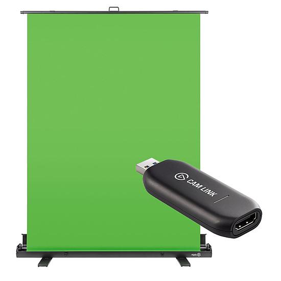 Montage et acquisition vidéo Elgato Green Screen + Cam Link 4K