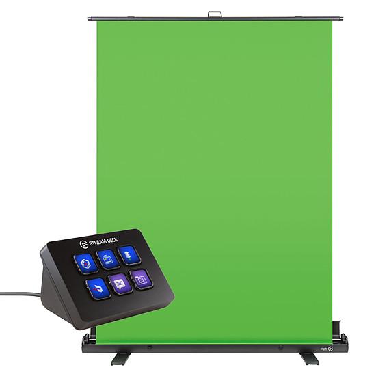 Accessoires streaming Elgato Green Screen + Stream Deck Mini