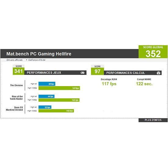 PC de bureau Materiel.net HellFire [ Win10 - PC Gamer ] - Autre vue