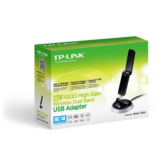 Carte réseau TP-Link Archer T9UH - Clé USB Wifi AC1900 double bande - Autre vue