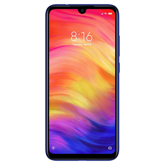 Smartphone et téléphone mobile Xiaomi Redmi Note 7 (bleu) - 32 Go - 3 Go