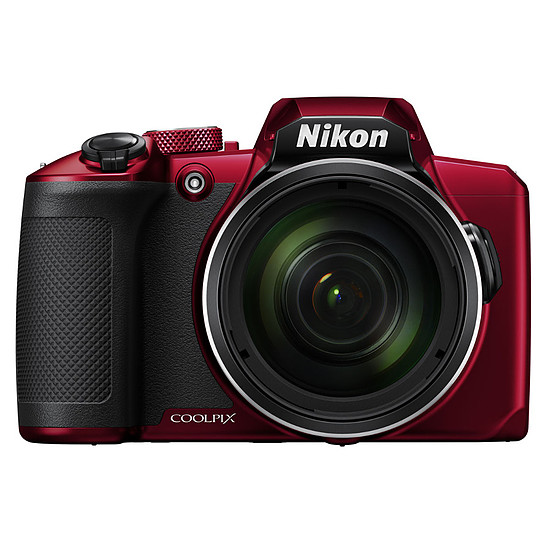 Appareil photo compact ou bridge Nikon Coolpix B600 Rouge