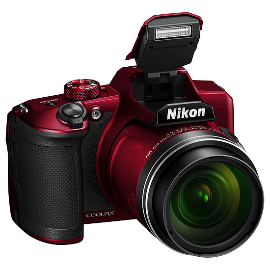 Appareil photo compact ou bridge Nikon Coolpix B600 Rouge - Autre vue