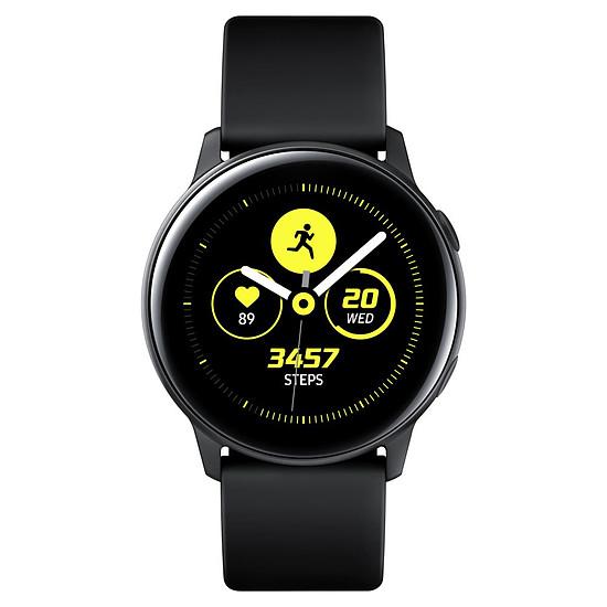 Montre connectée Samsung Galaxy Watch Active (noir - noir) - GPS - 40 mm - Autre vue