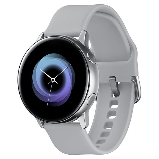 Montre connectée Samsung Galaxy Watch Active (argent - gris) - GPS - 40 mm