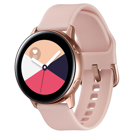 Montre connectée Samsung Galaxy Watch Active (or rose - rose) - GPS - 40 mm