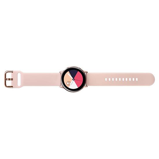Montre connectée Samsung Galaxy Watch Active (or rose - rose) - GPS - 40 mm - Autre vue