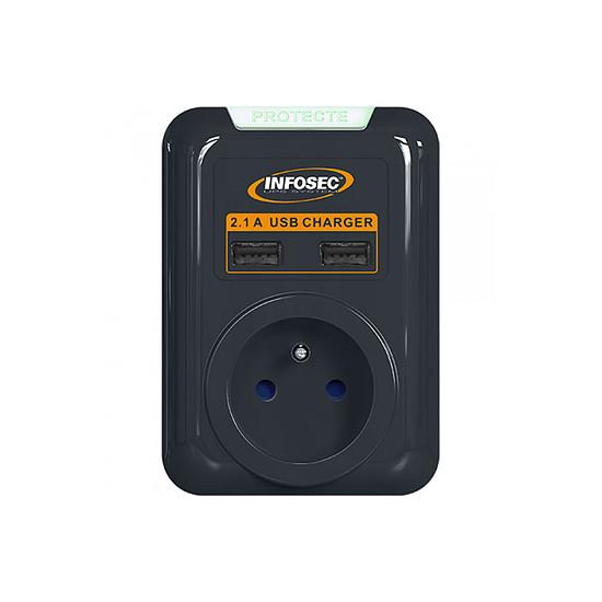 Prise parafoudre Infosec S1 USB NEO