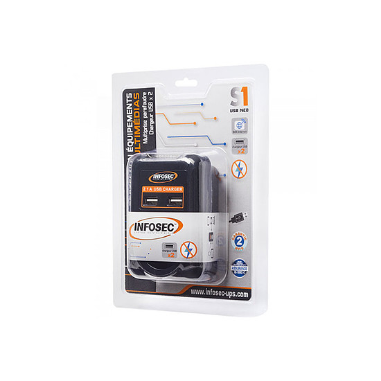 Prise parafoudre Infosec S1 USB NEO - Autre vue