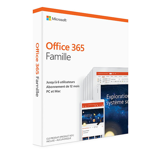 Office Microsoft Office 365 Famille