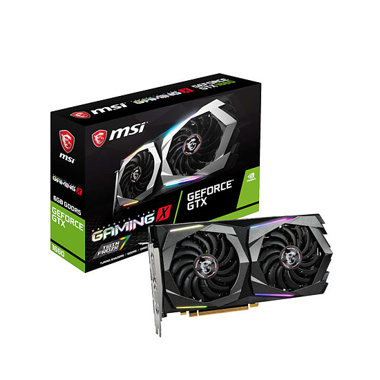 Carte graphique MSI GeForce GTX 1660 Gaming X