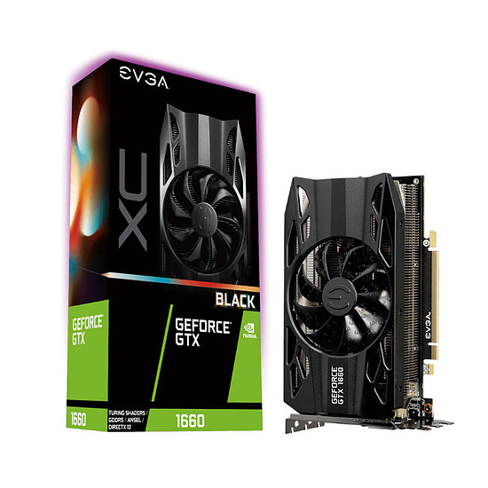 Carte graphique EVGA GeForce GTX 1660 XC Black