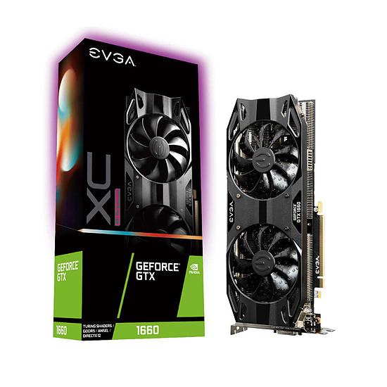 Carte graphique EVGA GeForce GTX 1660 XC Ultra