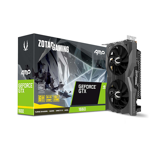 Carte graphique Zotac GeForce GTX 1660 AMP