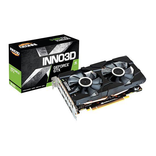 Carte graphique Inno3D GeForce GTX 1660 Twin X2