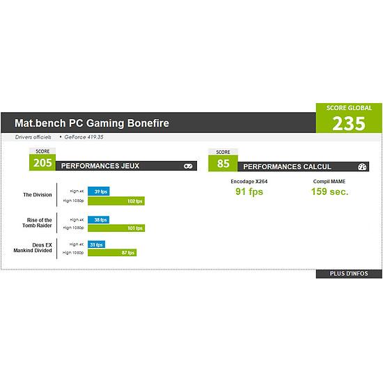 PC de bureau Materiel.net Bonefire [ Win10 - PC Gamer ] - Autre vue