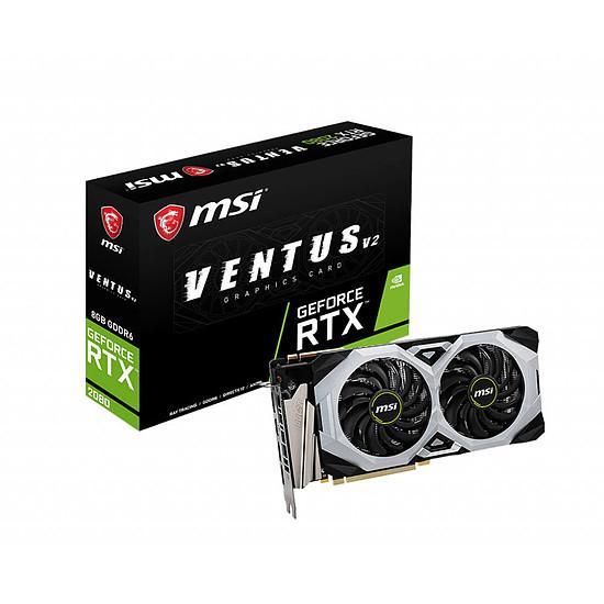 Carte graphique MSI GeForce RTX 2080 Ventus V2