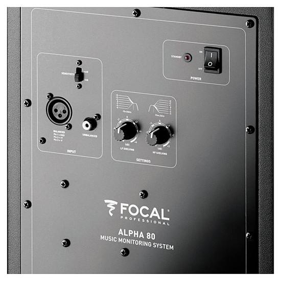Enceintes HiFi / Home-Cinéma Focal Alpha 80 (l'unité) - Noir - Autre vue