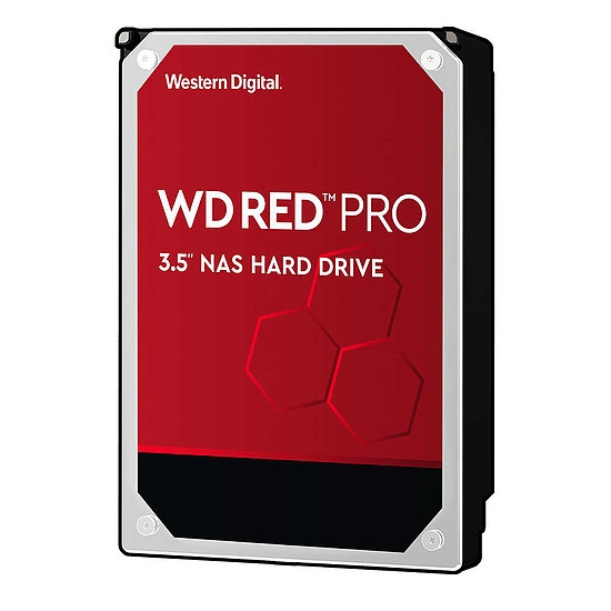 Disque dur interne Western Digital WD Red - 8 To - 128 Mo