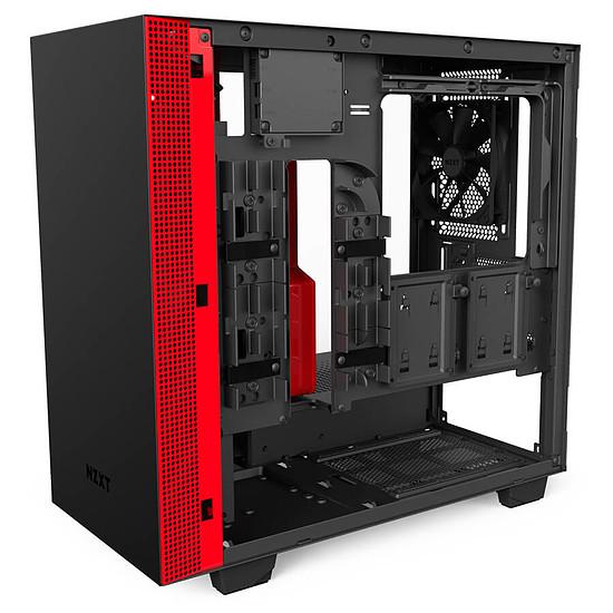 Boîtier PC NZXT H400i - Noir/Rouge - Autre vue
