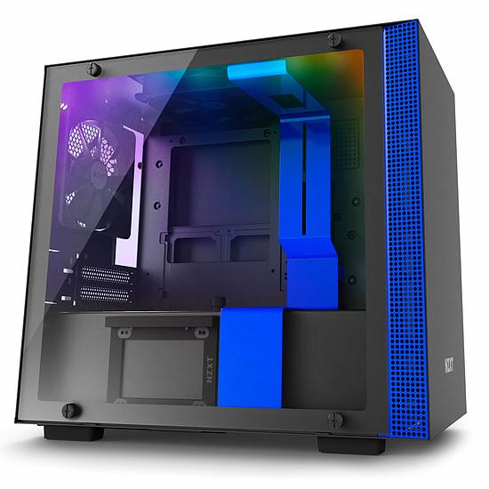 Boîtier PC NZXT H200I (Noir/Bleu)
