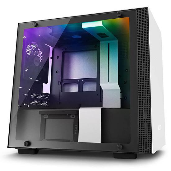 Boîtier PC NZXT H200I (Noir/blanc)