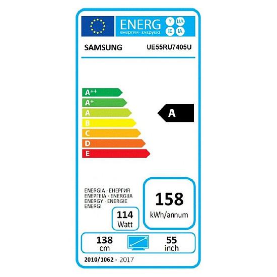 TV SAMSUNG UE55RU7405 TV LED UHD 4K 138 cm - Autre vue