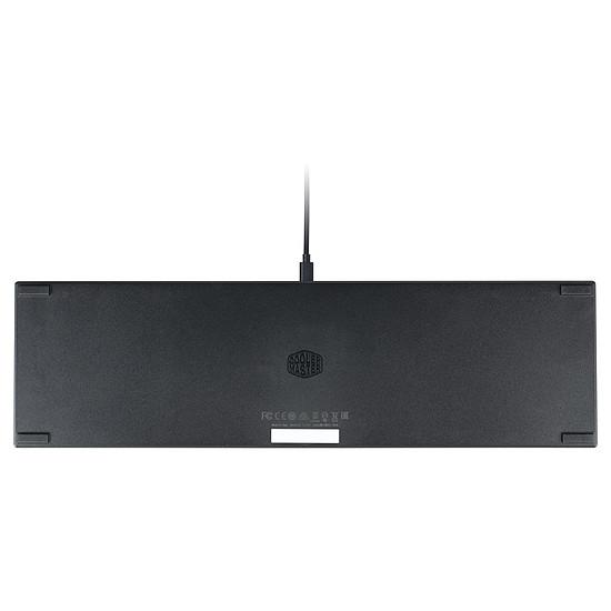 Clavier PC Cooler Master SK650 - Cherry MX LP Red - Autre vue
