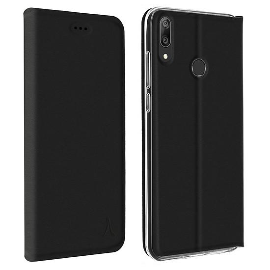 Coque et housse Akashi Etui Folio (noir) - Huawei Y7 2019