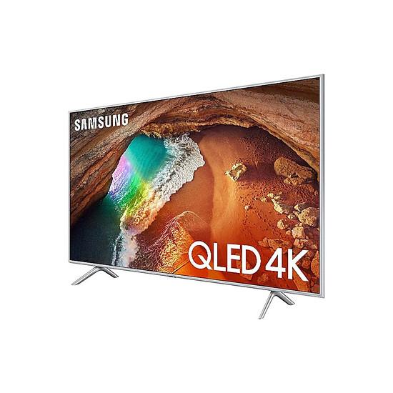 TV Samsung QE55Q64 R - TV QLED 4K UHD HDR - 138 cm - Autre vue