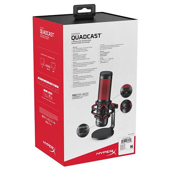 Microphone HyperX Quadcast - Autre vue