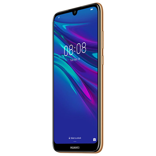 Smartphone et téléphone mobile Huawei Y6 2019 (ambre) - 32 Go - 2 Go