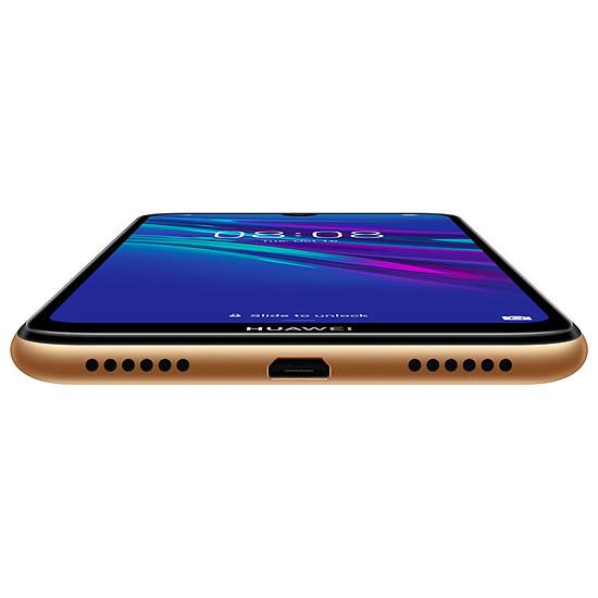 Smartphone et téléphone mobile Huawei Y6 2019 (ambre) - 32 Go - 2 Go - Autre vue