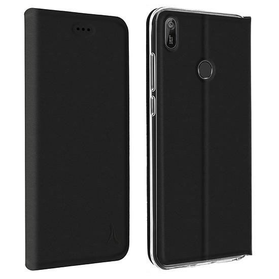 Coque et housse Akashi Etui Folio (noir) - Huawei Y6 2019
