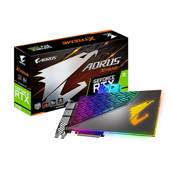 Carte graphique Gigabyte Aorus GeForce RTX 2080 Xtreme Waterforce WB