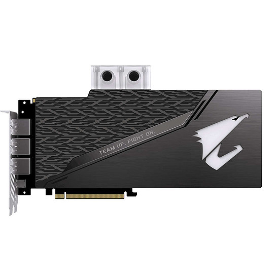 Carte graphique Gigabyte Aorus GeForce RTX 2080 Xtreme Waterforce WB - Autre vue