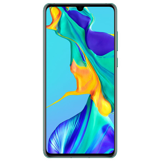 Smartphone et téléphone mobile Huawei P30 (bleu aurore) - 128 Go - 6 Go