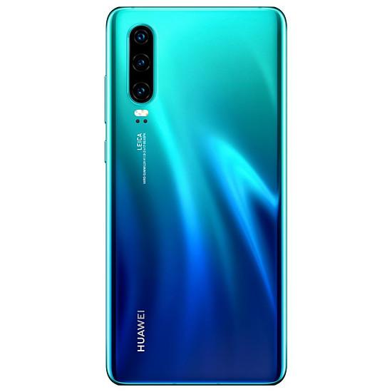 Smartphone et téléphone mobile Huawei P30 (bleu aurore) - 128 Go - 6 Go - Autre vue