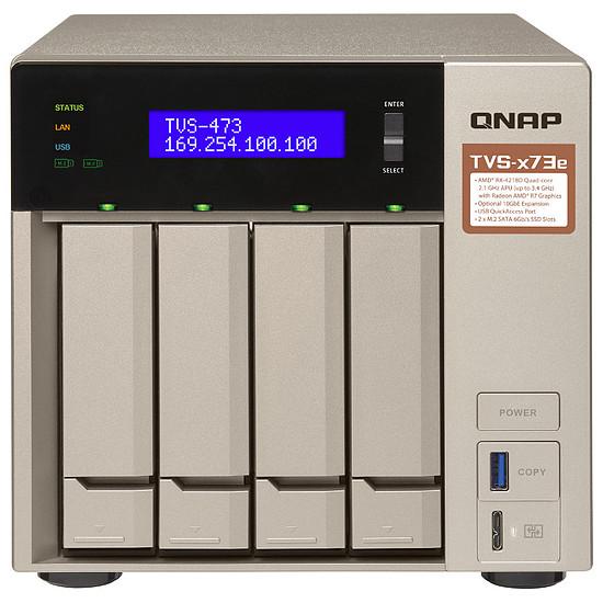 Serveur NAS QNAP TVS-473e-4G