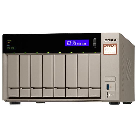 Serveur NAS QNAP TVS-873e-4G - Autre vue