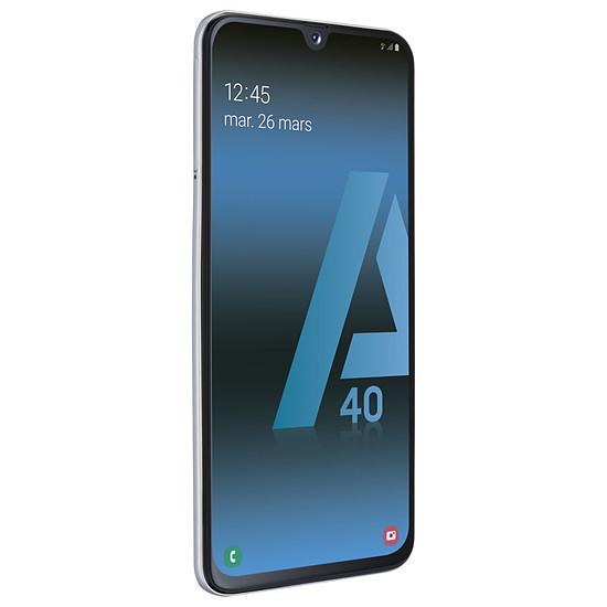 Smartphone et téléphone mobile Samsung Galaxy A40 (blanc) - 64 Go - 4 Go - Autre vue