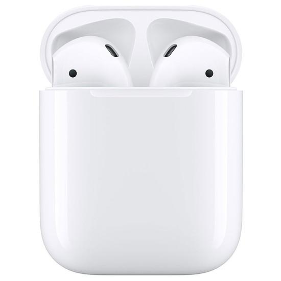 Casque Audio Apple AirPods 2 avec boîtier de charge - Écouteurs sans fil
