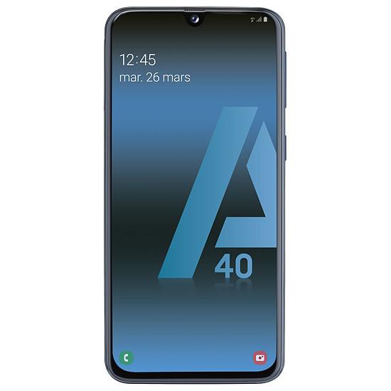 Smartphone et téléphone mobile Samsung Galaxy A40 (noir) - 64 Go - 4 Go - Autre vue