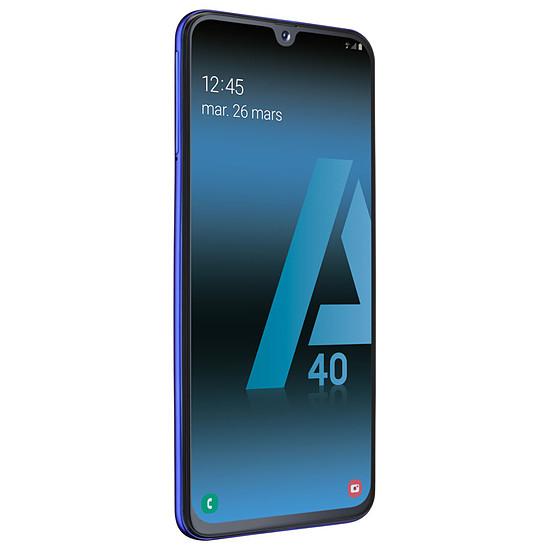 Smartphone et téléphone mobile Samsung Galaxy A40 (bleu) - 64 Go - 4 Go - Autre vue