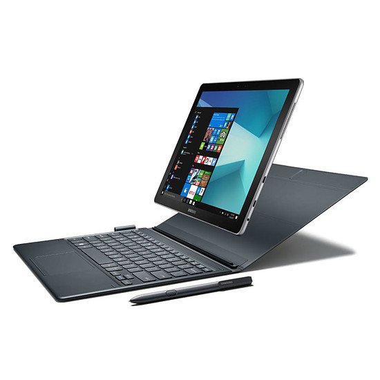 "Tablette Samsung Galaxy Book 12"" 4G Wi-Fi - 256 Go - Win 10 Pro"