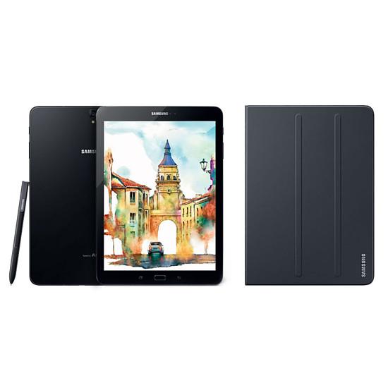 """Tablette Samsung Galaxy TAB S3 9.7"""" 32 Go WI-FI (Noir) + cover offerte"""